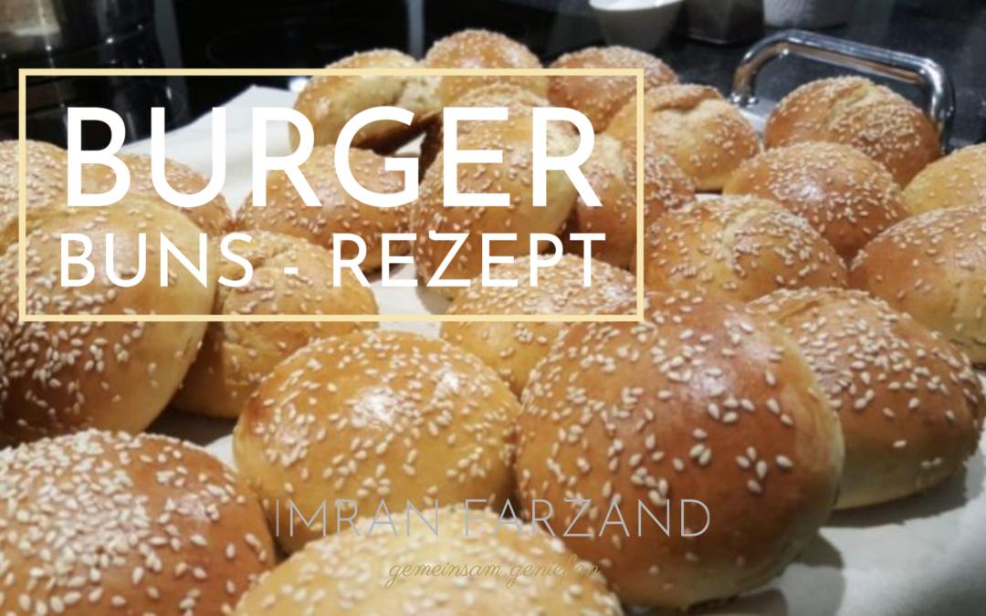 Burger Buns – Rezept