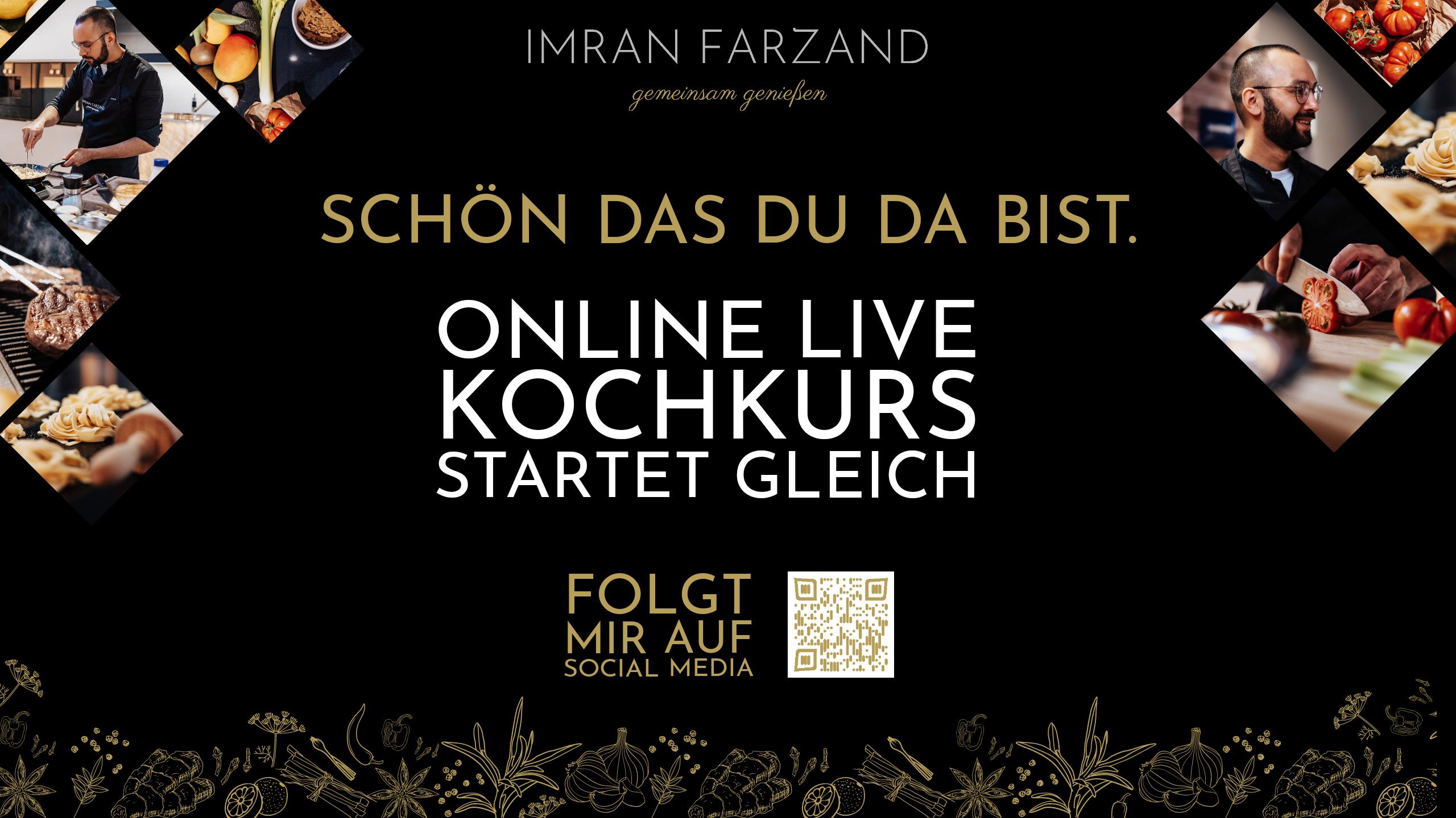 live Online Kochkurs als Firmenevent